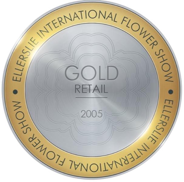 Gold Retail Award 2005 Ellerslie Flower Show