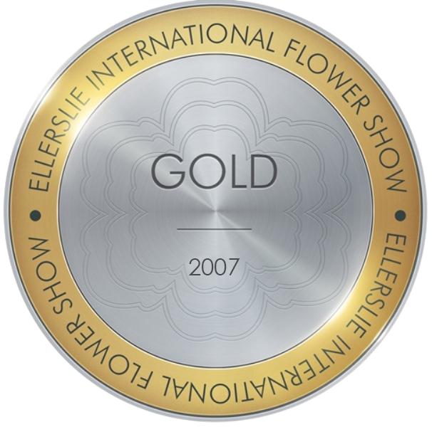 Gold Award 2007 Ellerslie Flower Show