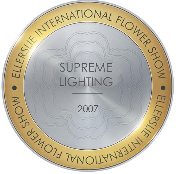 Supreme Lighting Award 2007 Ellerslie Flower Show